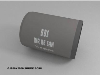Q 1200 mm Sürme Boru