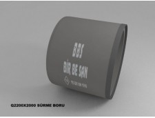 Q 2200 mm Sürme Boru